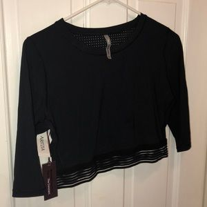 Aritzia Crop Workout Top (L)